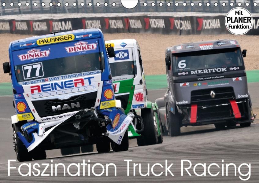 Faszination Truck Racing (Wandkalender 2017 DIN A4 quer) - Coverbild