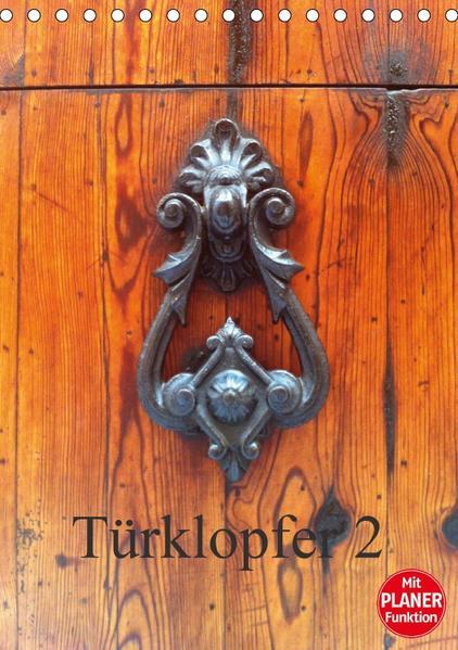 Türklopfer 2 (Tischkalender 2017 DIN A5 hoch) - Coverbild