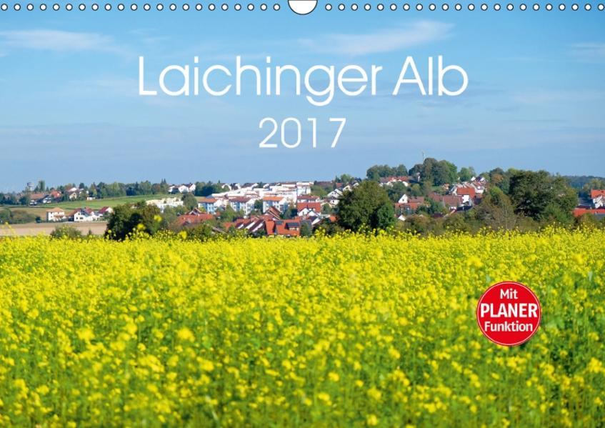 Laichinger Alb (Wandkalender 2017 DIN A3 quer) - Coverbild