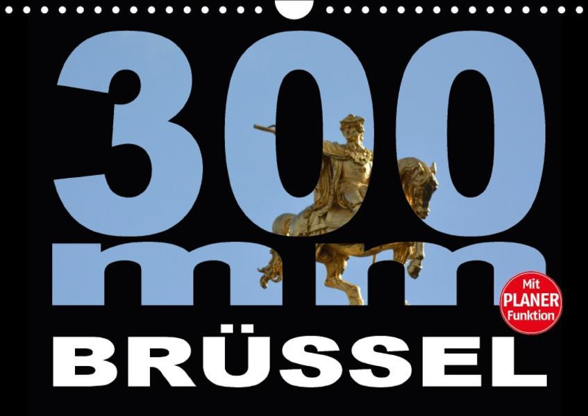 300mm - Brüssel (Wandkalender 2017 DIN A4 quer) - Coverbild