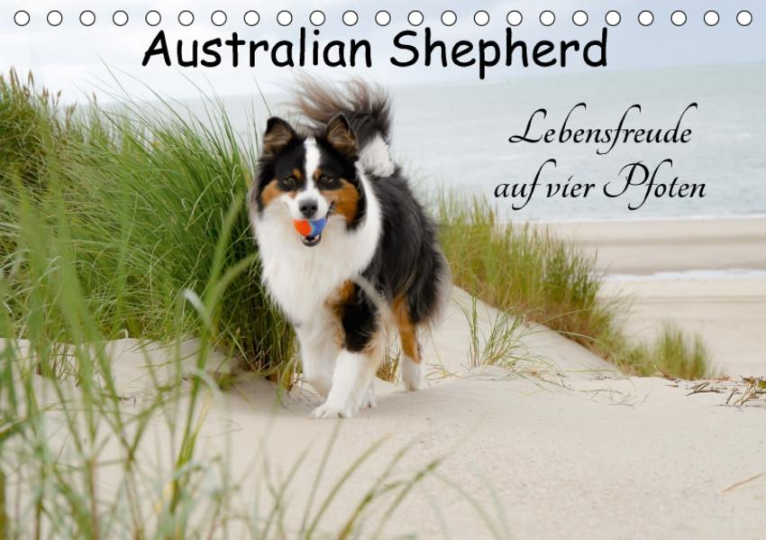 Australian Shepherd - Lebensfreude auf vier Pfoten (Tischkalender 2017 DIN A5 quer) - Coverbild