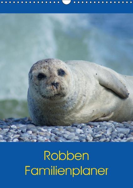 Robben Familienplaner (Wandkalender 2017 DIN A3 hoch) - Coverbild