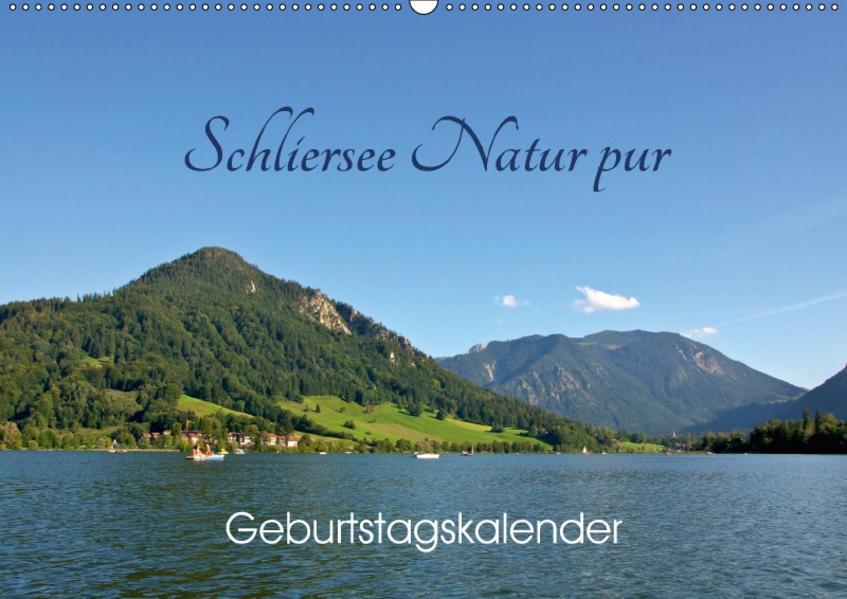 Schliersee Natur pur (Wandkalender 2017 DIN A2 quer) - Coverbild