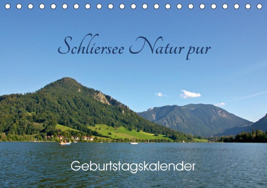 Schliersee Natur pur (Tischkalender 2017 DIN A5 quer) - Coverbild