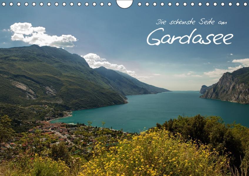 Die schönste Seite am Gardasee (Wandkalender 2017 DIN A4 quer) - Coverbild