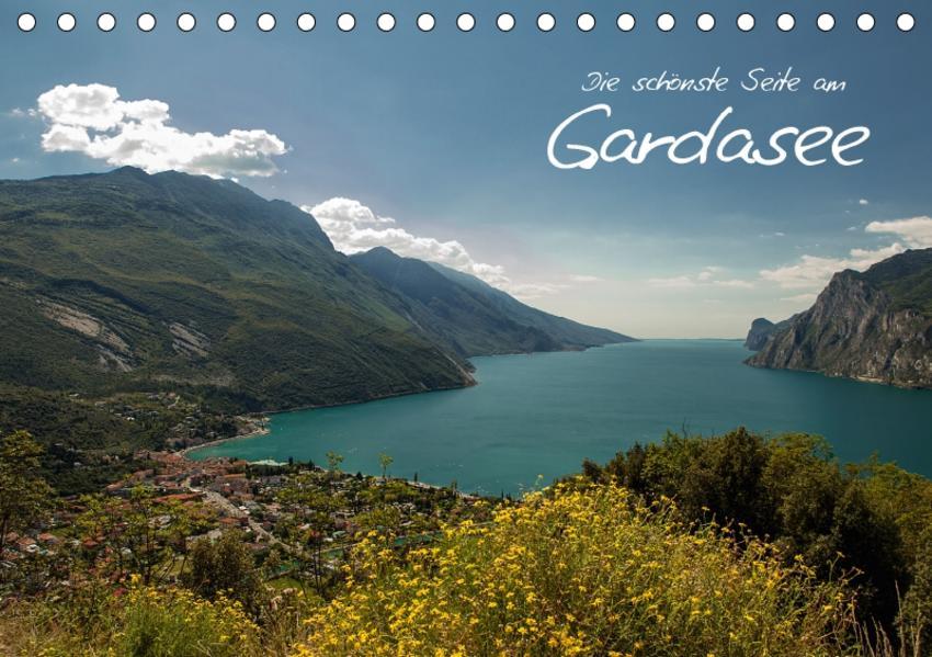 Die schönste Seite am Gardasee (Tischkalender 2017 DIN A5 quer) - Coverbild