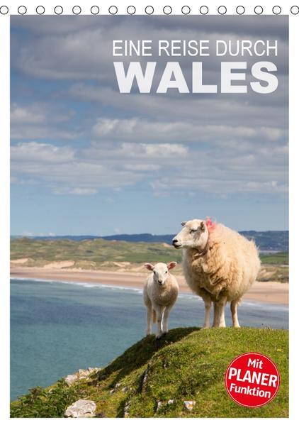 Eine Reise durch Wales (Tischkalender 2017 DIN A5 hoch) - Coverbild