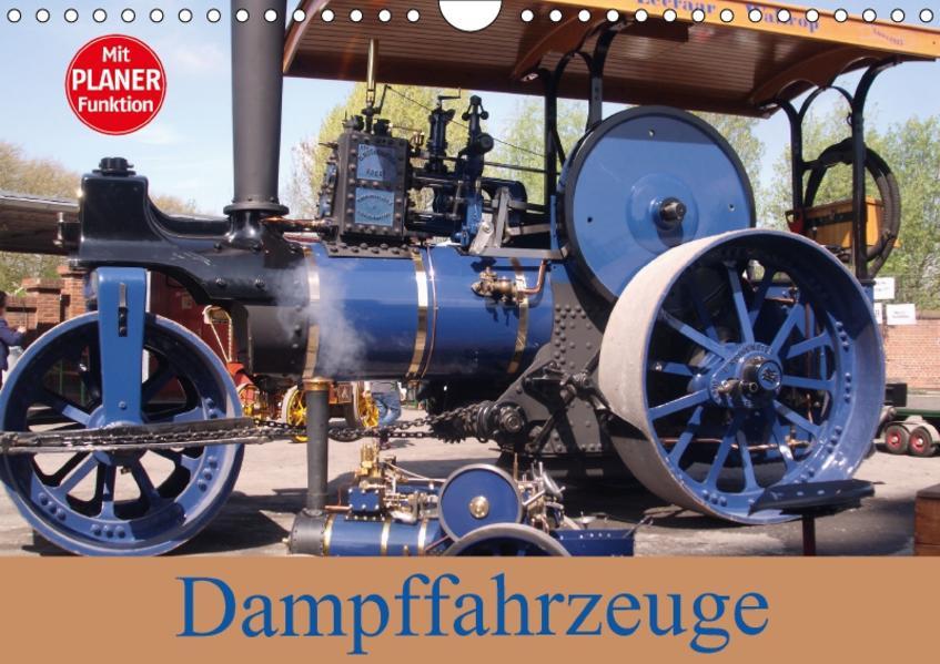Dampffahrzeuge (Wandkalender 2017 DIN A4 quer) - Coverbild