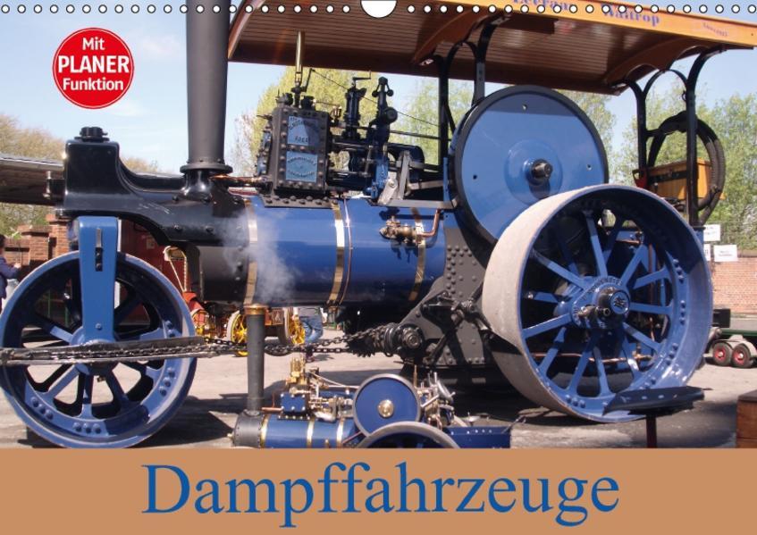 Dampffahrzeuge (Wandkalender 2017 DIN A3 quer) - Coverbild