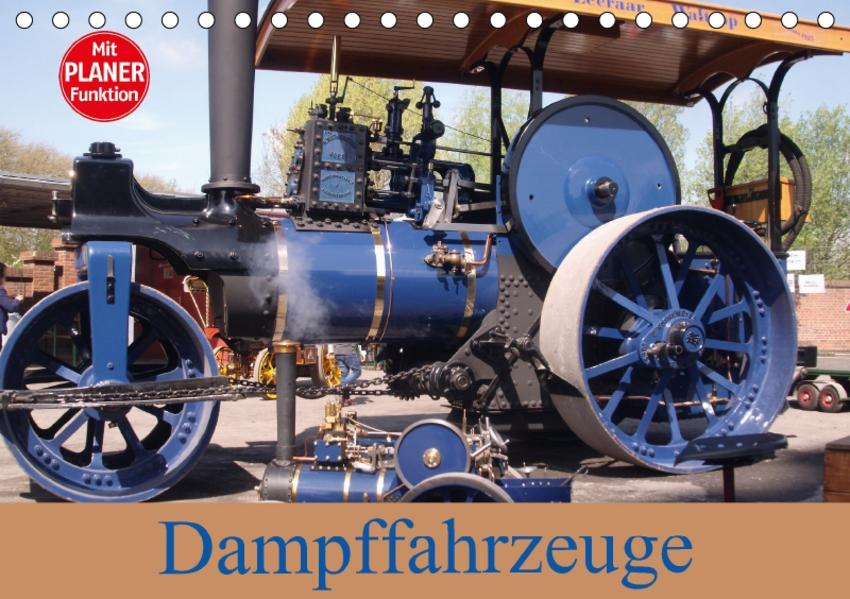Dampffahrzeuge (Tischkalender 2017 DIN A5 quer) - Coverbild