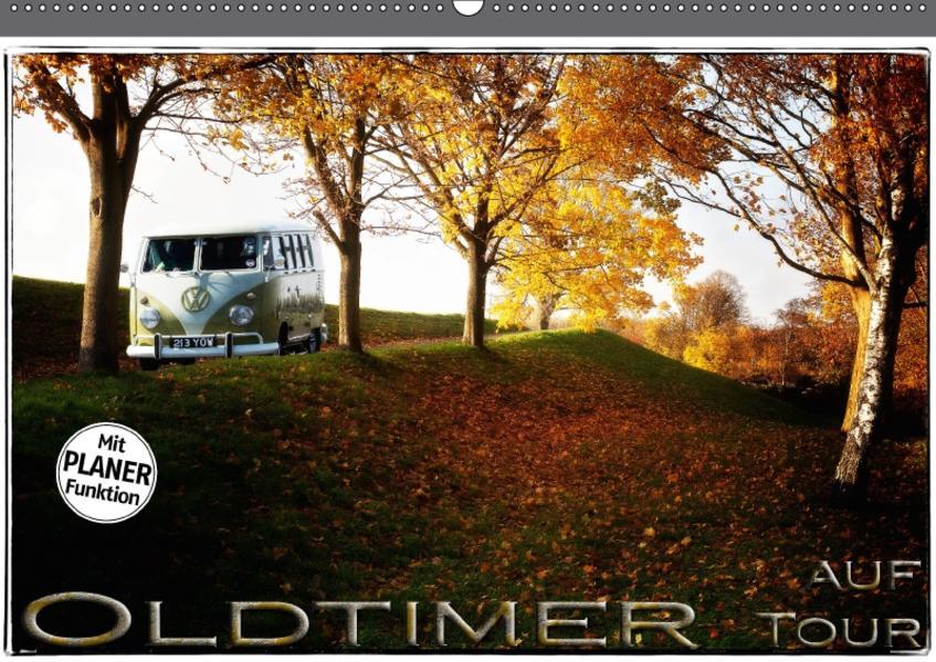 Oldtimer auf Tour (Wandkalender 2017 DIN A2 quer) - Coverbild