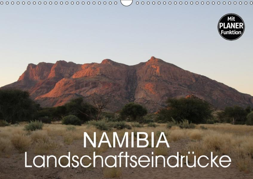Namibia - Landschaftseindrücke (Wandkalender 2017 DIN A3 quer) - Coverbild