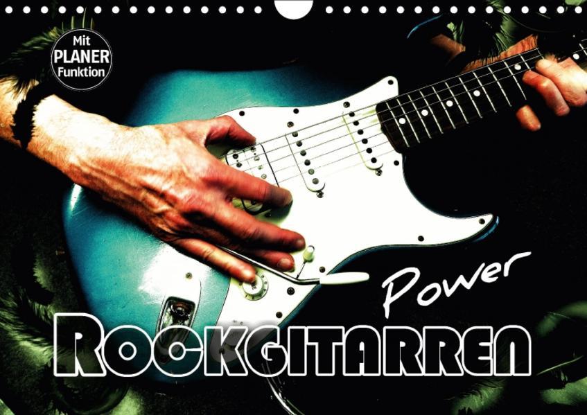 Rockgitarren Power (Wandkalender 2017 DIN A4 quer) - Coverbild