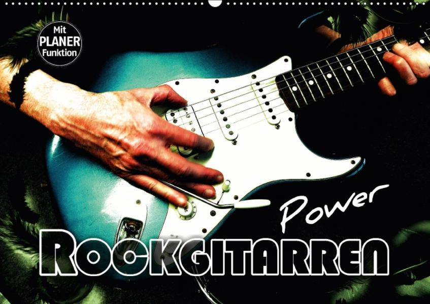 Rockgitarren Power (Wandkalender 2017 DIN A2 quer) - Coverbild