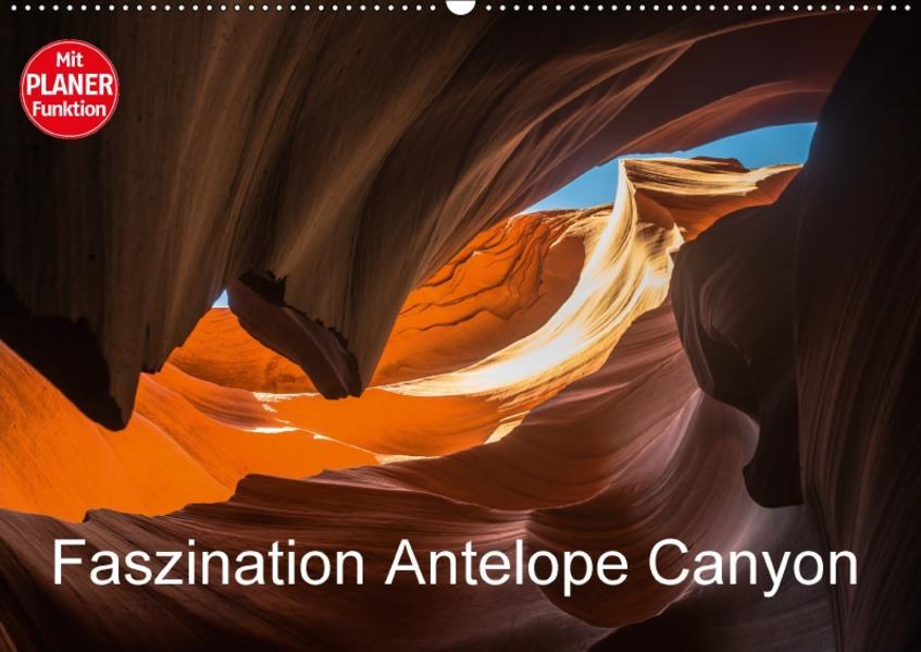 Faszination Antelope Canyon (Wandkalender 2017 DIN A2 quer) - Coverbild