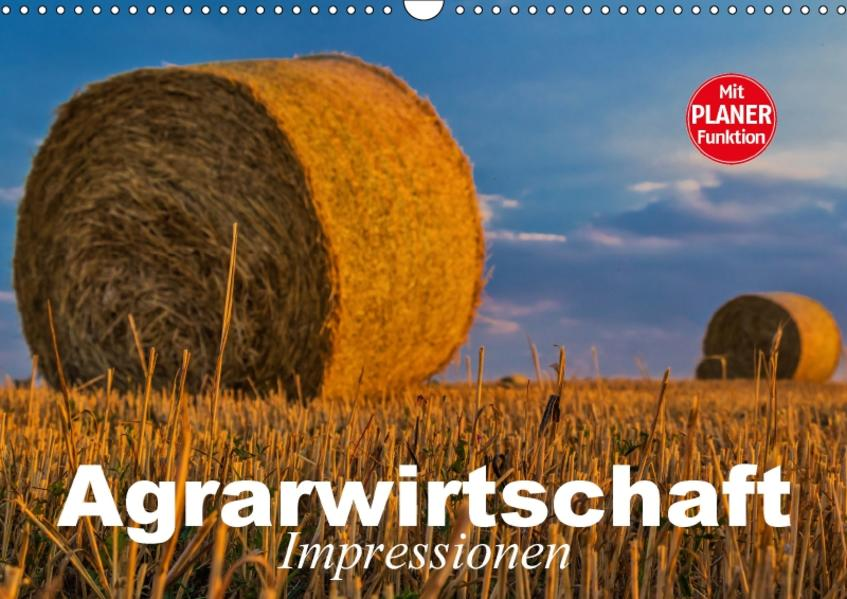 Agrarwirtschaft. Impressionen (Wandkalender 2017 DIN A3 quer) - Coverbild