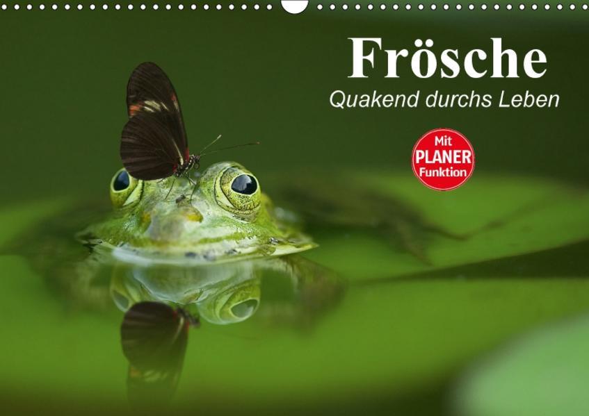 Frösche. Quakend durchs Leben (Wandkalender 2017 DIN A3 quer) - Coverbild