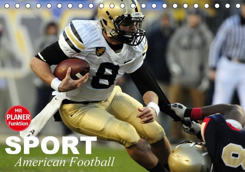 Sport. American Football (Tischkalender 2017 DIN A5 quer) - Coverbild