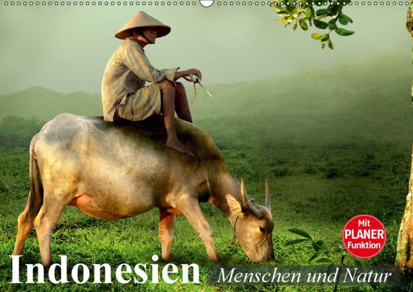 Indonesien. Menschen und Natur (Wandkalender 2017 DIN A2 quer) - Coverbild