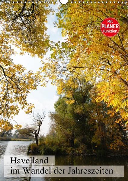 Havelland im Wandel der Jahreszeiten (Wandkalender 2017 DIN A3 hoch) - Coverbild