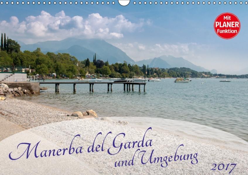 Gardasee - Manerba del Garda (Wandkalender 2017 DIN A3 quer) - Coverbild