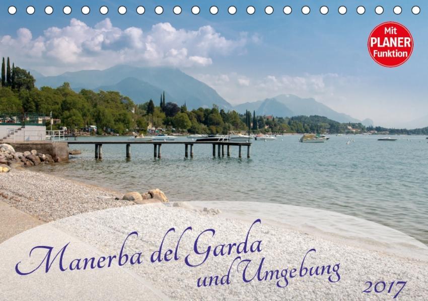 Gardasee - Manerba del Garda (Tischkalender 2017 DIN A5 quer) - Coverbild