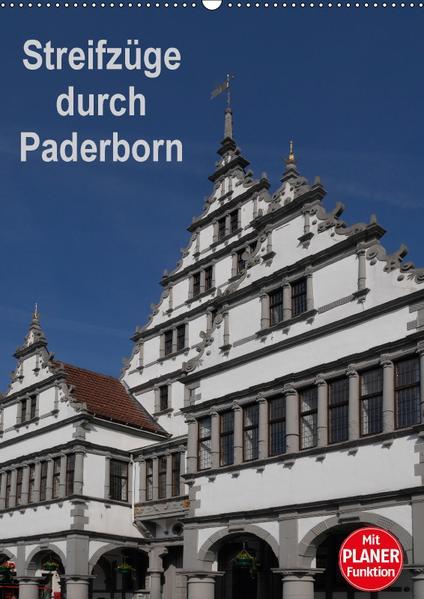 Streifzüge durch Paderborn (Wandkalender 2017 DIN A2 hoch) - Coverbild