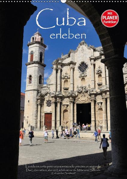 Cuba erleben (Wandkalender 2017 DIN A2 hoch) - Coverbild