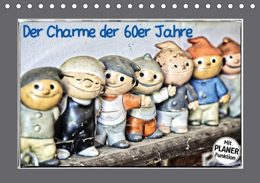 Der Charme der 60er Jahre (Tischkalender 2017 DIN A5 quer) - Coverbild