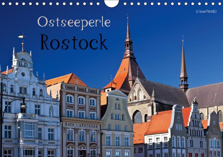 Ostseeperle Rostock (Wandkalender 2017 DIN A4 quer) - Coverbild