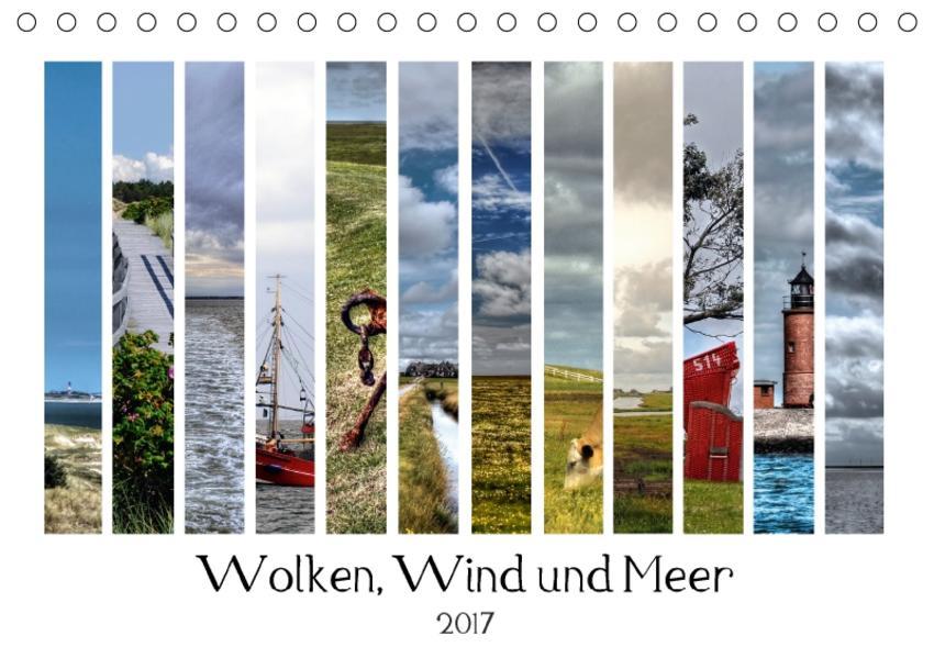 Wolken, Wind und Meer (Tischkalender 2017 DIN A5 quer) - Coverbild