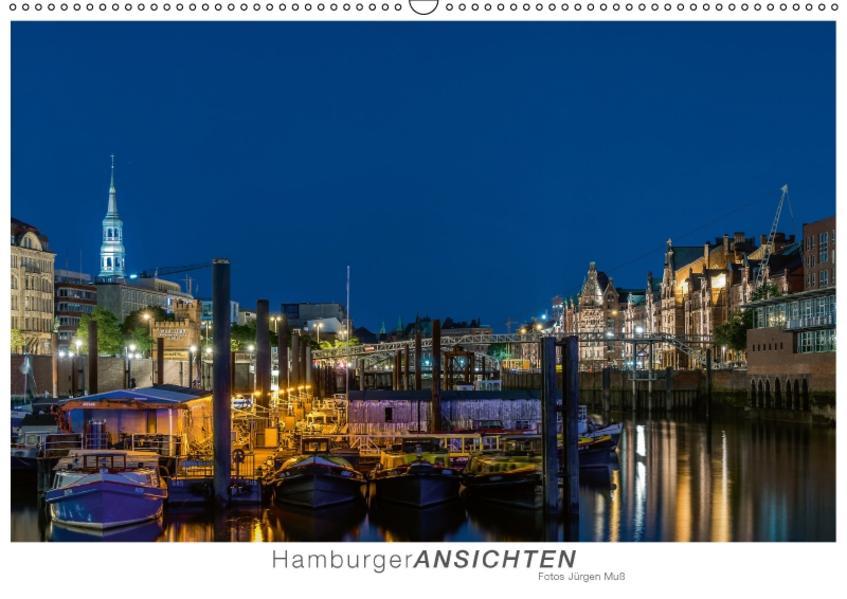 Hamburger Ansichten (Wandkalender 2017 DIN A2 quer) - Coverbild