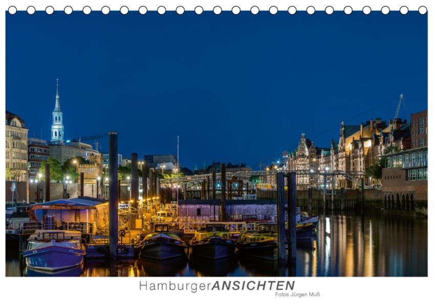 Hamburger Ansichten (Tischkalender 2017 DIN A5 quer) - Coverbild