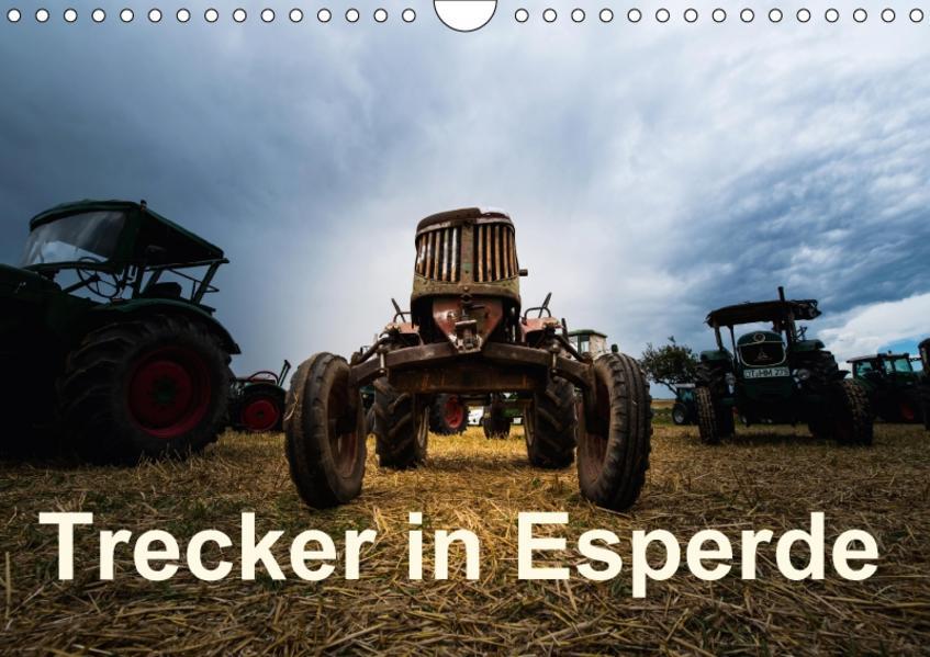 Treckertreff in Esperde (Wandkalender 2017 DIN A4 quer) - Coverbild