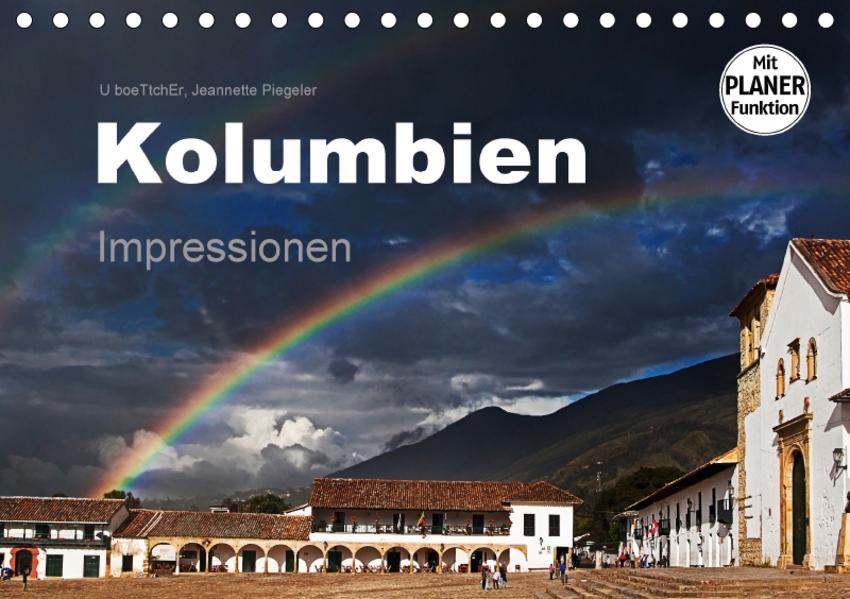Kolumbien Impressionen (Tischkalender 2017 DIN A5 quer) - Coverbild