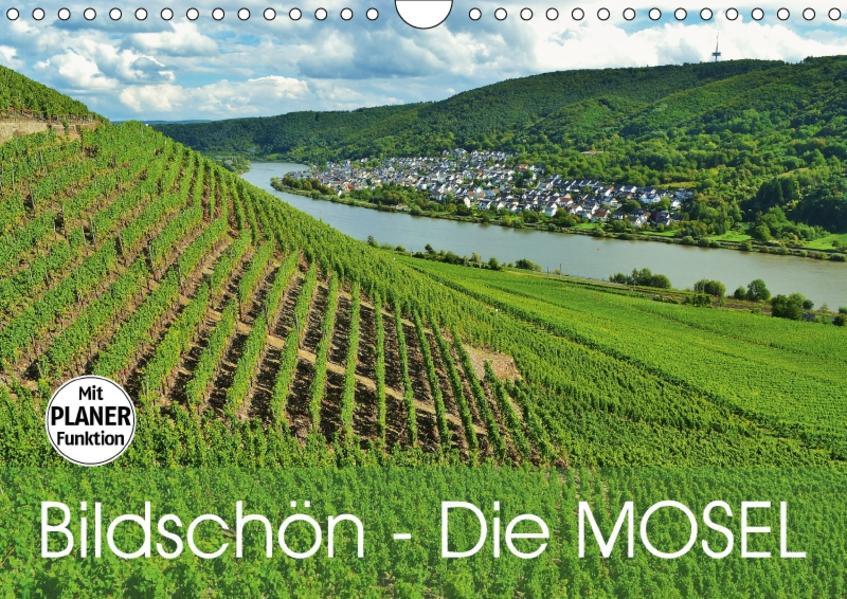 Bildschön - Die Mosel (Wandkalender 2017 DIN A4 quer) - Coverbild