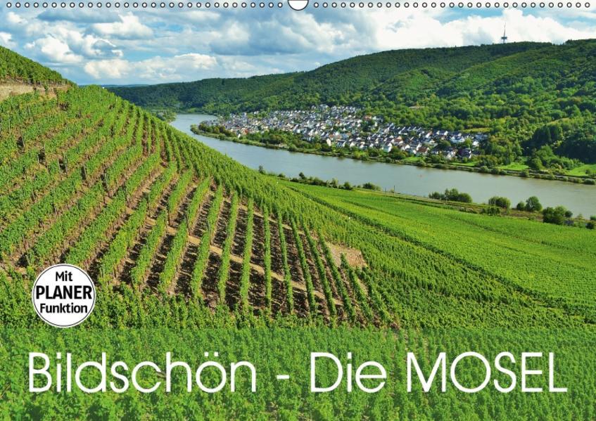 Bildschön - Die Mosel (Wandkalender 2017 DIN A2 quer) - Coverbild