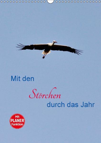 Mit den Störchen durch das Jahr (Wandkalender 2017 DIN A3 hoch) - Coverbild