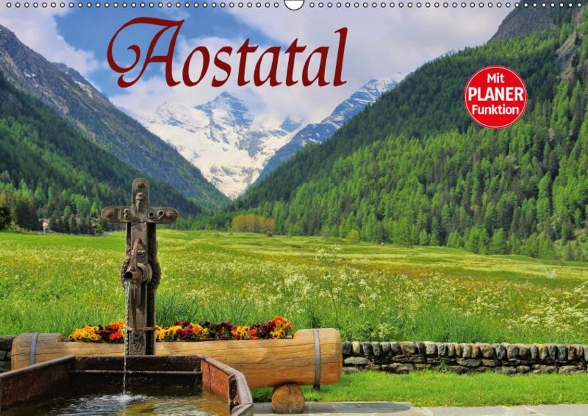 Aostatal (Wandkalender 2017 DIN A2 quer) - Coverbild