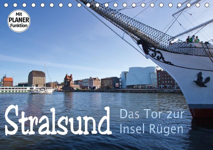 Stralsund. Das Tor zur Insel Rügen (Tischkalender 2017 DIN A5 quer) - Coverbild