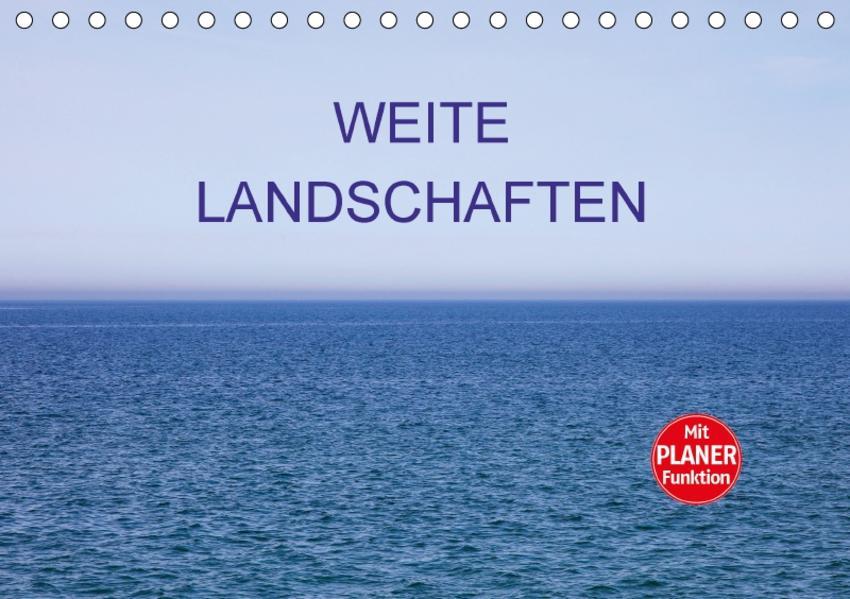 Weite Landschaften (Tischkalender 2017 DIN A5 quer) - Coverbild