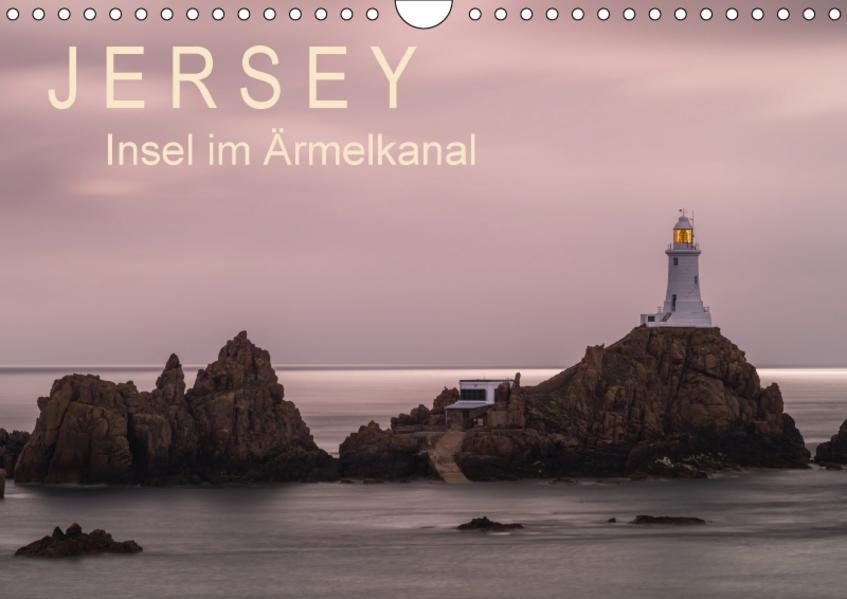 Jersey - Insel im Ärmelkanal (Wandkalender 2017 DIN A4 quer) - Coverbild
