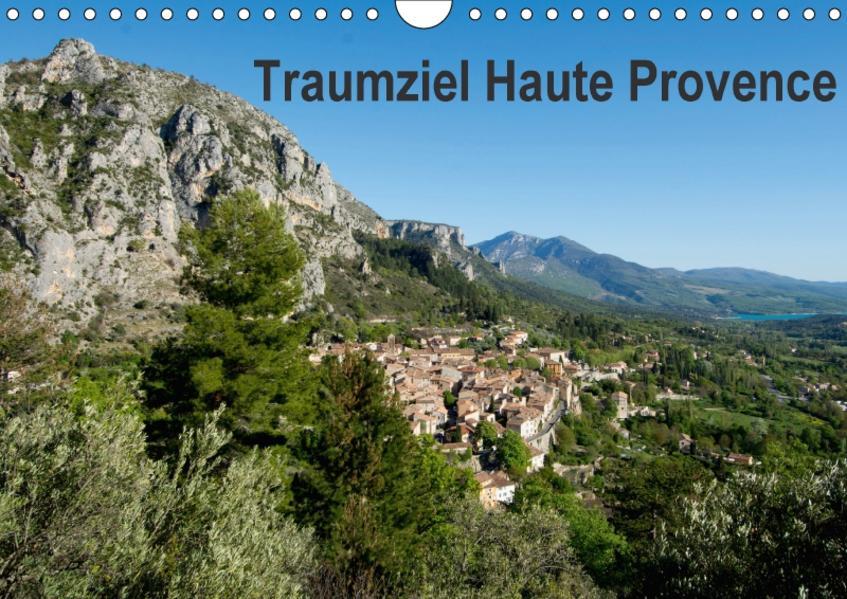Traumziel Haute Provence (Wandkalender 2017 DIN A4 quer) - Coverbild