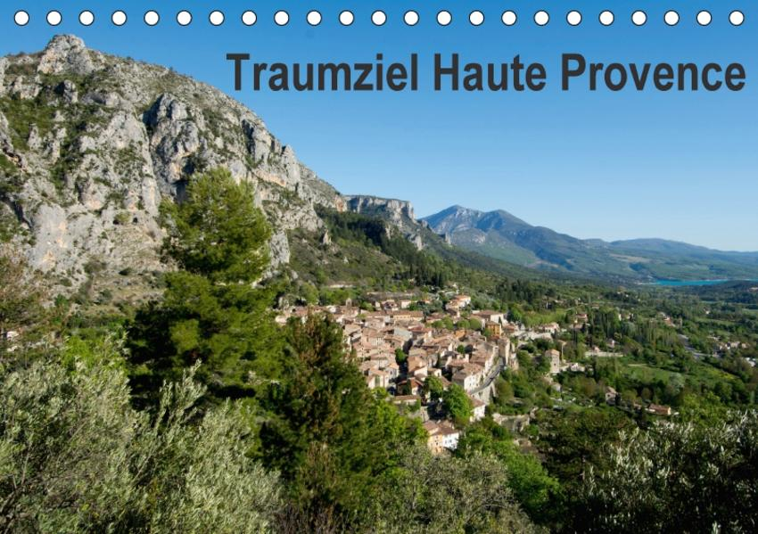 Traumziel Haute Provence (Tischkalender 2017 DIN A5 quer) - Coverbild