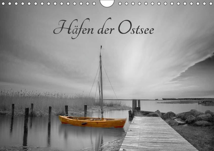 Häfen der Ostsee (Wandkalender 2017 DIN A4 quer) - Coverbild
