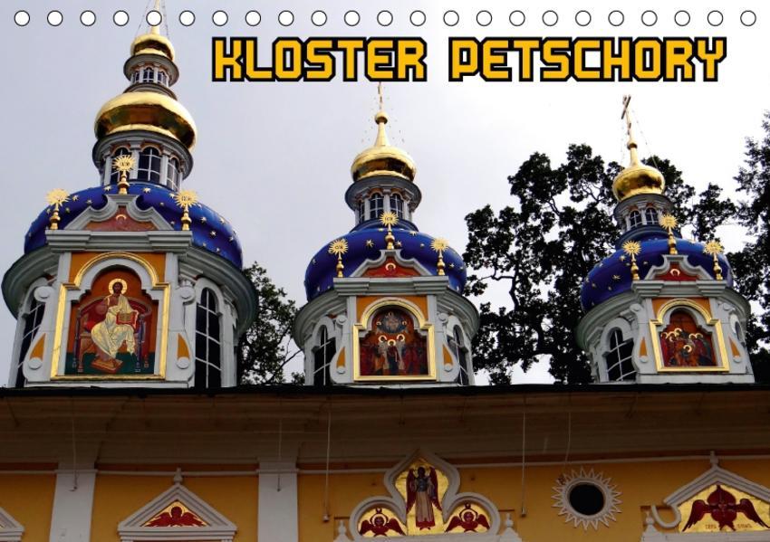 Kloster Petschory (Tischkalender 2017 DIN A5 quer) - Coverbild