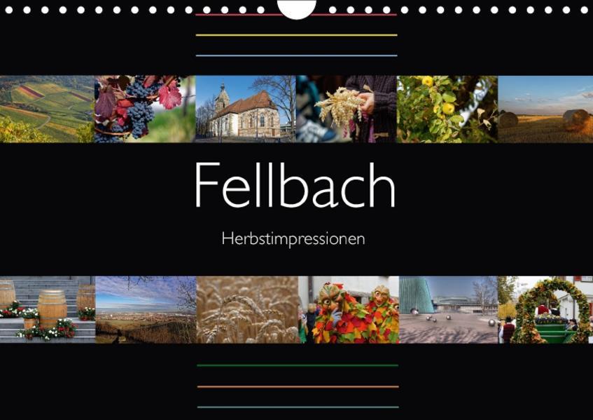 Fellbach Herbstimpressionen (Wandkalender 2017 DIN A4 quer) - Coverbild