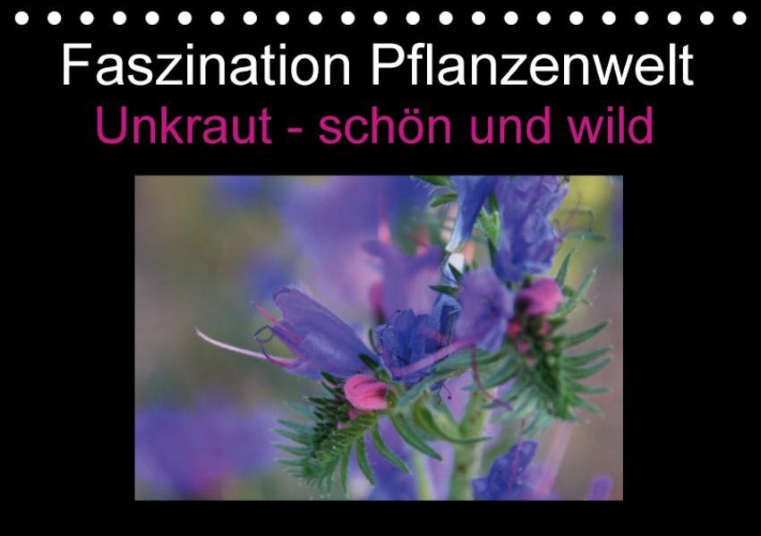 Faszination Pflanzenwelt - Unkraut, schön und wild (Tischkalender 2017 DIN A5 quer) - Coverbild