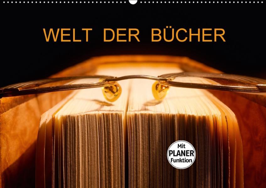 Welt der Bücher (Wandkalender 2017 DIN A2 quer) - Coverbild
