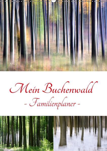Mein Buchenwald - Familienplaner (Wandkalender 2017 DIN A2 hoch) - Coverbild